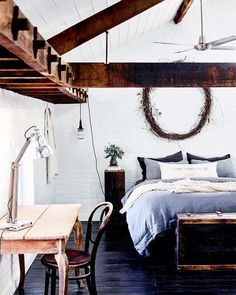 Old Flour Mill Becomes Rustic Family Home