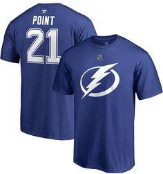 dae58142c73 NHL Men s Tampa Bay Lightning Brayden Point  21 Royal Player T-Shirt
