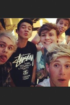 5 Seconds of Summer and Niall Horan<<< so basically you mean this is 5 seconds of summer. -Niall probably