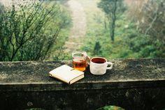 hot tea and a good book