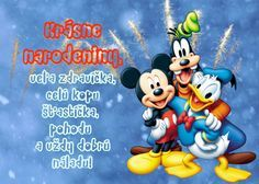 Gmail - Našli sme pár nových pinov na vašu nástenku blahozelania Birthday Wishes, Mickey Mouse, Merry Christmas, Birthdays, Holiday, Google, Merry Little Christmas, Anniversaries, Special Birthday Wishes