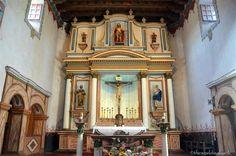 Mission San Luis Rey altar