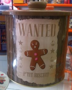 barattolo per biscotti Wanted www.dolcementeweb.com