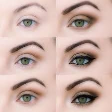 how to apply eyeshadow for green eyes - Google Search