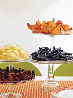 chip tasting, would be perfect for my sons graduation because its his favorite food