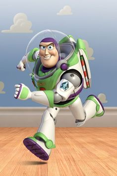 Buzz Lightyear just might be the front runner so far.