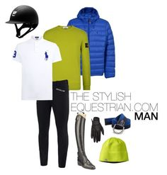 """""""Style with a twist of lime"""" by rachel-reunis on Polyvore featuring Polo Ralph Lauren, STONE ISLAND, Kingsland, Parlanti, Smartwool, men's fashion and menswear"""