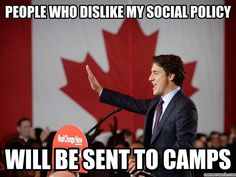 Image result for justin trudeau dictator The Twits, Social Policy, Political Memes, Justin Trudeau, Current Events, Dumb And Dumber, Canada Eh, Shit Happens, Clueless