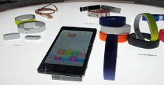 Sony core smartband lifelog app & Z2 - Mobile World Congress 2014 (Barcelone) - ESPAGNE