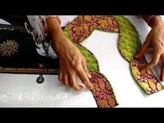 Hello Viewers Welcome To MMS DESIGNER. This video will show you how to create a beautiful and simple way MMS Latest Blouse Back Neck designs Easy Cutting and. New Saree Blouse Designs, Choli Blouse Design, Patch Work Blouse Designs, Simple Blouse Designs, Stylish Blouse Design, Diy Blouse, Sari Blouse, Netted Blouse Designs, Neck Designs For Suits