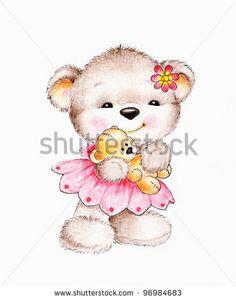 Cute Bear Fotos, imagens e fotografias Stock | Shutterstock