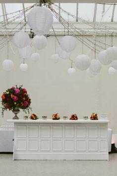 reception, and throughout the evening bring out golden light Hanging Centerpiece, Centerpieces, Hampton Court House, Winning London, Late Summer Weddings, Wedding Decorations, Wedding Ideas, Courthouse Wedding, London Wedding