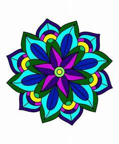 Mandala Drawing, Mandala Art, Tile Art, Mosaic Art, Rangoli Kolam Designs, Geometric Flower, Gourd Art, Illustrations, Heart Art