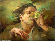 Jean D'esparbes, Le buveur d'absinthe