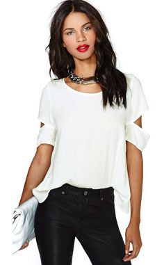 blusa branca fashion - Pesquisa Google
