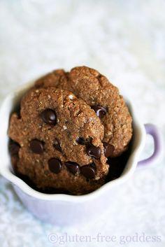 Quinoa Chocolate Chip Cookies #glutenfree #quinoa #cookies