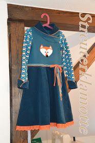 Wow! Kleid aus SM Marita, tolle Details!!! Ein Kleid aus Sweat und Cord