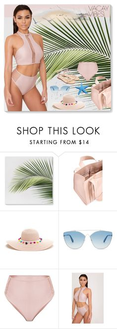 """""""Beach Please: Vacay Outfit"""" by ventevent ❤ liked on Polyvore featuring Corto Moltedo and Christian Dior"""