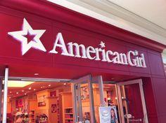 American Girl Store in Tyson's Corner, favorite destination of my daughters.