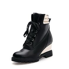 MayMeenth Womens HighHeels Assorted Color Closed Round Toe Soft Material Laceup Boots Black 38 *** Learn more by visiting the image link. (This is an affiliate link) Women's Over The Knee Boots, Knee High Boots, Lace Up Boots, Black Boots, High Knees, Shoe Boots, Shoes, Womens High Heels, Women Jewelry