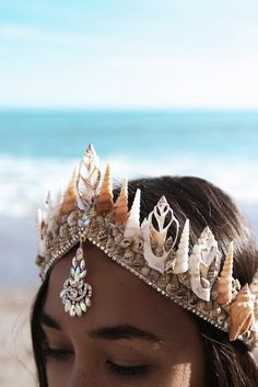 Siren Song Mermaid Tiara