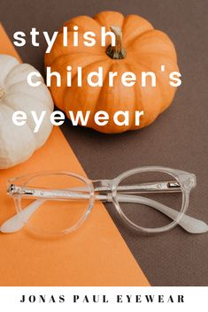 ca7a75b18980 Jonas Paul Eyewear brand fall colored eyeglasses for kids  pumpkin spice  and everything nice with