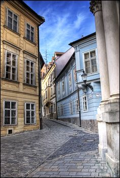 Streets of Bratislava, Slovakia Montenegro, Bósnia E Herzegovina, Places To Travel, Places To Go, Danube River Cruise, European River Cruises, Bratislava Slovakia, Heart Of Europe, Austro Hungarian