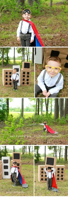 Super Hero Elliot | Imagination Session | Raeford, NC Child Photographer | Patty K Photography
