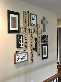 Magnificent Scrabble family wall display  The post  Scrabble family wall display…  appeared first on  Home Decor .
