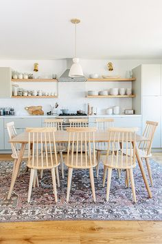 Transitional Space - An Affordable Scandi Beach House Reno You Have To See To Believe - Photos