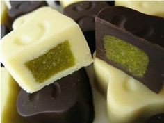 Cioccolatini ai pistacchi