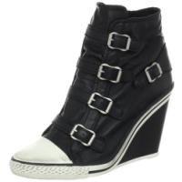Ash Women's Thelma Fashion Sneaker,Black,39 EU/9 M US>