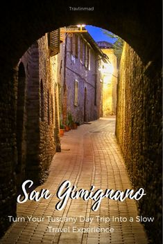 """San Gimignano, the medieval Italian """"city of beautiful towers"""", is an easy day trip from Florence, but it really deserves more time. Here's a start on things to see and do in San Gimignano and the perfect intro to this historic Tuscan hilltop town. 