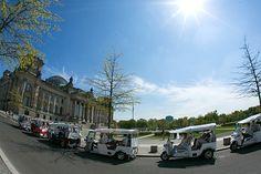 Carbon-neutral eTukTuks in the government quarter BUSINESS & NATURE   Cool, cooler… Berlin! More information on Berlin: visitBerlin.com