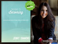 """""""Becoming requires more than just 'still standing' once the storm passes. It's the journey after the storm's destruction that matters the most. The waiting. The rebuilding. The giving birth to new life."""" - @Jenny Simmons    #TheRoadToBecoming by Jenny Simmons is a beautiful and funny memoir, but we need YOUR help to raise the funds needed to get it published!   Will you join us in this crazy leap of faith and be a part of something incredible?   www.kickstartjenny.com"""