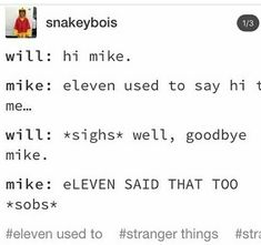 Ahaha poor mike. ❤️❤️ but it's all good in the end ❤️❤️