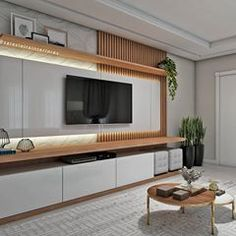 15 TV Cabinet Designs That Will Make Your Living Room Ultra Stylish Room Design, Tv Wall Design, Bedroom Design, Tv Room Design, Ceiling Design Living Room, Living Room Tv Unit Designs, Wall Tv Unit Design, Living Room Designs, Living Room Tv