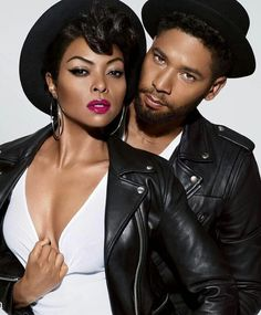 Sandra Bauknecht: Empire stars Taraji P. Henson and Jussie Smollett are the smoldering new faces of M. The two join a long and familiar list of celebrities that Black Actresses, Black Actors, Black Celebrities, Beautiful Celebrities, Actors & Actresses, Celebs, Celebrity Look, Celebrity Gossip, Celebrity News