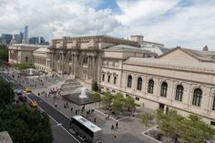 The Metropolitan Museum of Art, which was designed by architect and founding trustee architect Richa... - The Metropolitan Museum of Art