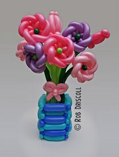 My Daily Balloon: 31st May - Vase of Flowers