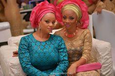 Nigerian wedding official yoruba traditional wedding pictures of Tiwa Savage