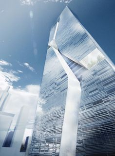 Guosen Securities Tower, Shenzen, China by Massimiliano + Doriana Fuksas.