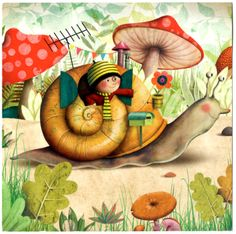 """Escargot"" by Marie Desbons"