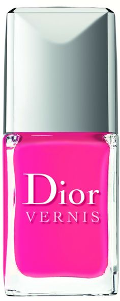 "Dior Cosmo: From Dior's upcoming ""Summer Mix"" collection which will be available in June, this color evokes the spirit of its namesake cocktail. Just don't lick your nails. (Dior, $23)"