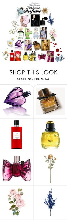 """""""Let Perfume Define You"""" by reflect-n-inspire ❤ liked on Polyvore featuring beauty, Prada, Chanel, Diesel, Burberry, Hermès and Yves Saint Laurent"""