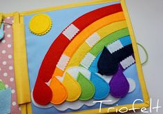 Quiet book busy book soft book activity book felt book