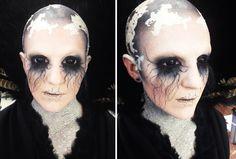 Cracking good SPFX work by Blanche Macdonald Global Makeup student Pauline King!