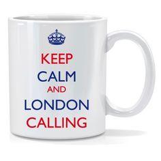 Tazza personalizzata keep calm and london calling