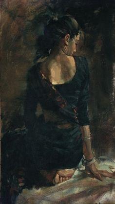 John Fernandes, John, Figurative Paintings, Oil on Canvas Paintings, Water…