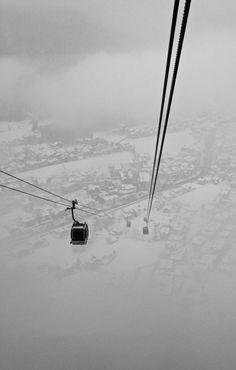 Penkenbalm, looking down on Mayrhofen.